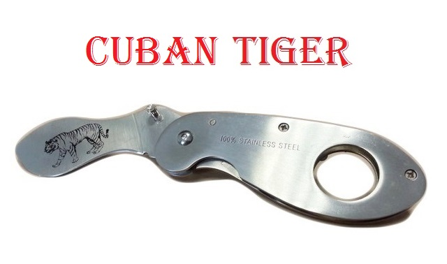 Coltello serramanico cuban tiger .